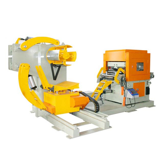 3 in 1 Coil Sheet Straightener Feeder with Decoiler